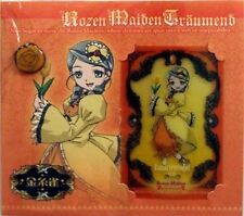 Rozen Maiden Lami Card and Rose Pin Set Kanaria Anime Licensed NEW