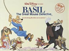 "Basil the great mouse detective 16"" x 12"" Reproduction Movie Poster Photograph"