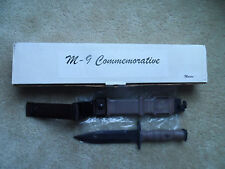 ONTARIO Commemorative M-9 Military Combat Knife Scabbard OKC Marines NEW 2003
