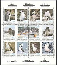 Argentina 1980 Penguins/Birds/Seal/Antarctic/Animals/Nature/Wildlife sht n37811
