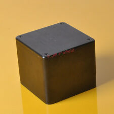 1pc 110x110x96mm Black Aluminum Transformer Cover Protect Chissis Enclosure Case