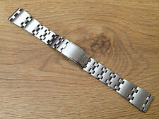 NEW SEIKO 19MM STAINLESS STEEL GENTS WATCH STRAP FOR VARIOUS SEIKO SPORTS MODELS