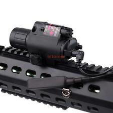 2in1 Tactical CREE Q5 LED Flashlight Red Laser Sight Combo for Shotgun Glock