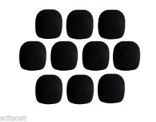 Hosa Black Foam Microphone Mic Wind Screen Pop Blocker Clean Sound (10-Pack) x10