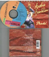 Voces Legendarias Aretha Franklin CD 2000