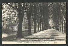 Chivasso ( Torino ) : Canale Cavour -  cartolina viaggiata nel1931 per Oleggio