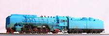 Bachmann China QJ2 Steam Locomotive (Blue) (Museum Edition) -- HO scale