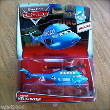 Disney PIXAR Cars DINOCO HELICOPTER diecast 2015 7/8 DELUXE DINOCO theme Mega