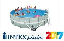 PISCINA INTEX FUORITERRA 549X132 ROTONDA ULTRA FRAME FULL OPTIONAL POMPA SABBIA