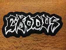 EXODUS new EMBROIDERED PATCH IRON ON, SEW , American thrash metal HARDCORE Music