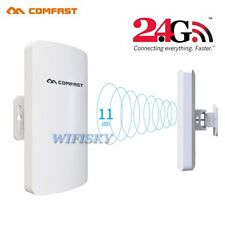 COMFAST 3KM Outdoor CPE 2.4GHz 300Mbps Wireless Access Point WiFi Repeater AP WF