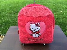 NWT Hello Kitty Red Back pack girl License Sanrio Small Size ~Cute~ for kid