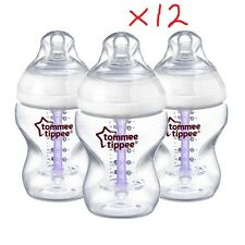 Set of 12x6oz Tommee Tippee Closer to Nature Anti Colic Bottles and 1x11oz