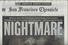 NIGHTMARE Terrorists mount their most devasting attacks S.F. Chronicle NEW!91201