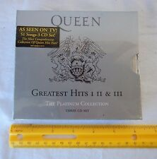 The Platinum Collection: Greatest Hits I, II & III Box set Queen (Audio CD) RC