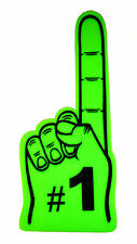 "Giant No.1 Foam Finger 24"", Lime Green"