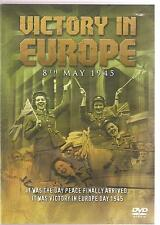 VICTORY IN EUROPE 8TH MAY 1945 DVD - IT WAS THE DAY PEACE FINALLY ARRIVED