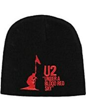 Official U2 Under A Blood Red Sky Beanie Hat Winter Cap
