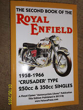 ROYAL ENFIELD 250 & 350 CRUSADER MANUAL clipper sports bullet gt super 5 + 58-66