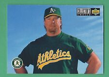 1994 Upper Deck Collector's Choice Mark McGwire Oakland Athletics A's #330