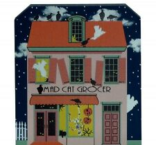 Cat's Meow Village Mad Cat Grocer Halloween Glows #15-631 *SHIPPING DISCOUNT*