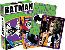DC Batman Villians Playing Cards Deck New