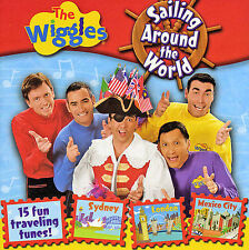 The Wiggles: Sailing Around The World (2005) CD Free Ship