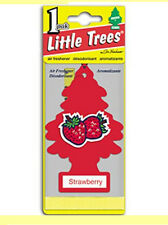Little Trees Hanging Car & Home Air Freshener Strawberry 12 Packs Scent
