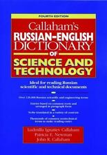 Callaham's Russian-English Dictionary of Science and Technology-ExLibrary