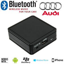 AUDI A3 A4 TT Wireless Bluetooth Musica in Streaming Vivavoce Interfaccia con Aux in