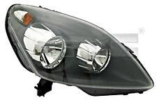 Black Headlight Front Lamp Right Fits OPEL Zafira B 2005-2008