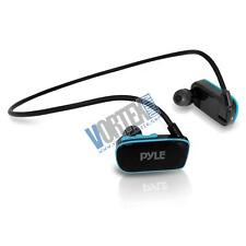 New Pyle PSWP6BK Flextreme Waterproof MP3 Player with Headphones Black