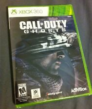 Call of Duty: Ghosts (Microsoft For  Xbox 360, 2013) NEW and FACTORY SEALED!
