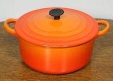 """Vintage LE CREUSET """"B"""" Saucepan. 2 Qt Lidded Cast Iron Dutch Oven Pot. FRANCE"""