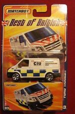 Matchbox Best of British 03  P7545  Ford Transit Van   C.I.U.  Collision Unit