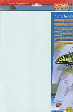 Decadry SCL 7605 Speckled Blue A4 Writing Paper Letterhead Paper Scrapbooking