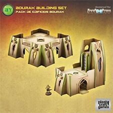 Plastic Craft Games: Bourak Building Set (28mm gaming terrain) INF017 New