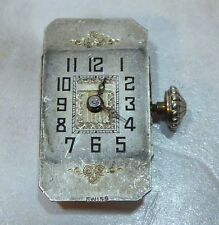 Vintage Blancpain Movement with Dial, Hands & Crown For Parts, Nut Running