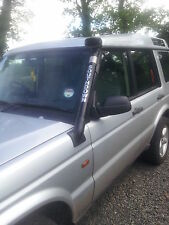 Land Rover Discovery 2 Snorkel  Black Powder Coated Stainless Pipe