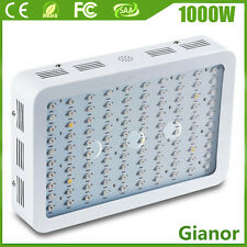 1000W Watt LED Grow Light Kit Lamp for Indoor Hydroponic Veg Flower Garden Plant