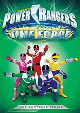 POWER RANGERS TIME FORCE COMPLETE SERIES New Sealed 5 DVD Set Season 9