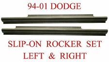 94 01 Dodge Slip-On Rocker Panel Set, Regular & Club Cab, Ram Truck Left & Right