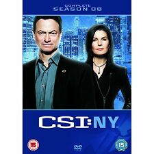 CSI NEW YORK Stagione 8 Completa Originale Inglese BOX 5DVD NEW .cp