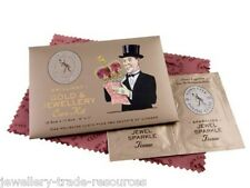 TOWN TALK GOLD POLISHING & CLEANING CARE KIT & CLOTH FOR JEWELLERY & JEWELLERS