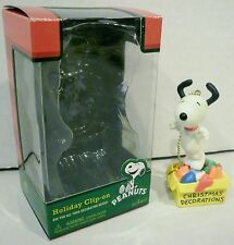 Peanuts Snoopy Holiday Clip-On Christmas Decoration Ornament