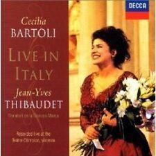 """CECILIA BARTOLI """"LIVE IN ITALY"""" CD NEU"""