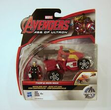 Hasbro Marvel Avengers Age of Ultron Thor and Iron Man Figures with Arc ATV