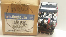 NEW WESTINGHOUSE 3PH MAGNETIC STARTER A200MOCW