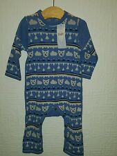 baby boy 6-9 months m&s teddy all in one romper