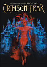 Crimson Peak DVD disc/case/imperfect cover only-no digital Hiddleston 2016 PV